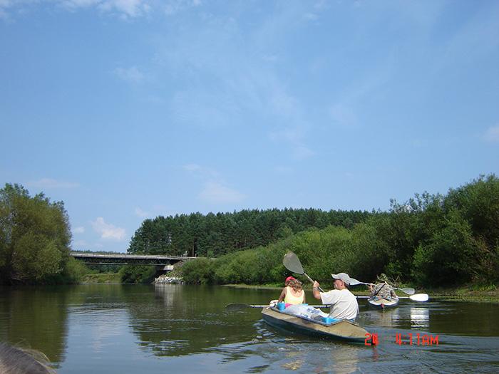 Поход по реке Горынь
